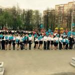 Строим парк. 9 мая. День Победы