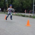 Школьные соревнования. Строимпарк